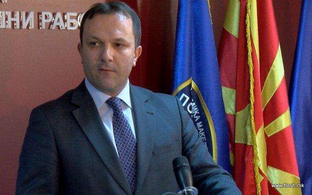 Спасовски за уапсениот од неговиот Кабинет: МВР нема да толерира загрозување на истраги