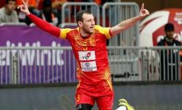 Манасков на промоцијата на нови играч на унгарскиот првак Веспрем