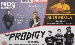 """""""Продиџи"""", Ал Ди Меола и ди-џеите Ники Ромеро и """"Лост Фриквенсис"""" на програмата на првото издание на """"Ohrid Calling"""""""
