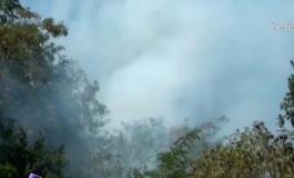 Пожар во Уранополис на Халкидики