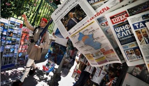 Грчките медиуми за изјавите на Заев