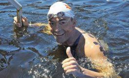 Томи Стефановски триумфираше на 30-тиот Охридски пливачки маратон