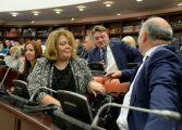 Одложена седницата на Комисијата за политички систем за извештајот на СЈО