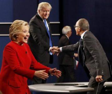 Дебатата Клинтон-Трамп ја гледале рекордни 80,9 луѓе