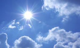 Сончево и топло, со мала облачност