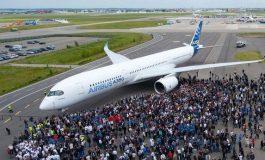 """Прв пробен лет на новиот """"Ербас A350-1000"""""""