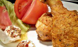 Поховани пилешки копани на италијански начин