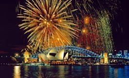 Пристигна Новата година во Австралија
