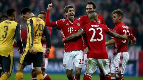 Убедливи победи на Баерн и Реал во првите осминафинални натпревари од ЛШ
