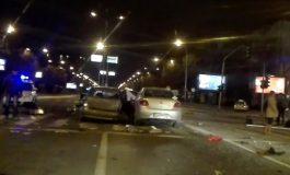 ВИДЕО:  Шестмина повредени во сообраќајка во Скопје