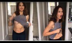 ВИДЕО ЛУДОРИИ:  Наместо рамен стомак, водителка случајно покажа голи гради