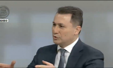 Груевски го повика Заев да се повлече од политиката