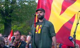 """Протестен марш на иницијативата """"За заедничка Македонија"""" по 33. пат во Скопје"""