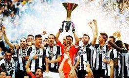 Јувентус ја прославува новата шампионска титула