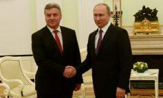 Путин: Политичката ситуација во Македонија да се развива согласно Уставот