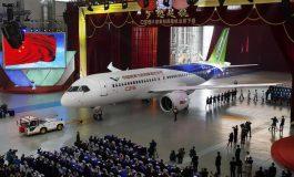 Полета првиот кинески патнички авион од домашно производство