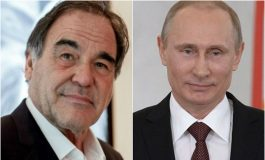 Оливер Стоун снима филм за Владимир Путин