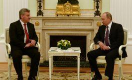 Иванов - Путин: Да продолжи позитивниот тренд на македонско-руските односи