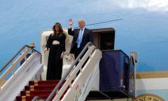 Меланија Трамп пристигна во Саудиска Арабија без марама на главата