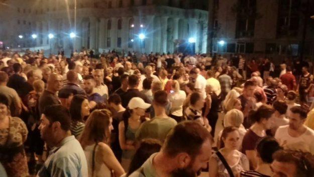 Продолжуваат протестите на ВМРО ДПМНЕ