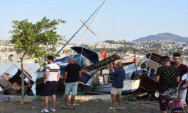 Цунами во Бодрум по земјотресот на Кос