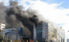 Пожар во луксузен хотел во Истанбул