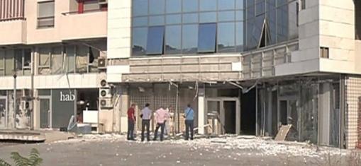 Силна експлозија во бизнис зграда во Подгорица