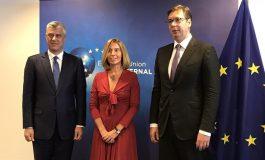 Во Брисел неформален состанок Могерини, Вучиќ и Тачи