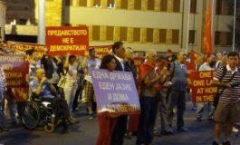 Протест на повеќе организации, најавуваат референдум за законот за јазици