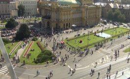 Плоштадот Маршал Тито преименуван во Плоштад Република Хрватска