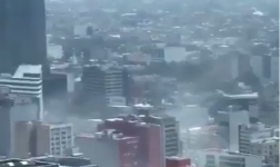 ВИДЕО: Нов катастрофален земјотрес во Мексико