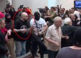 Уапсен Игор Југ, еден од напаѓачите во Собранието