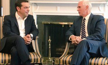 Пенс и Ципрас разговарале и за прашањето за името на Македонија