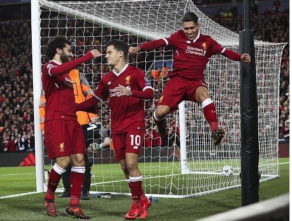 Блескава ноќ на Ливерпул во Лига на Шампионите