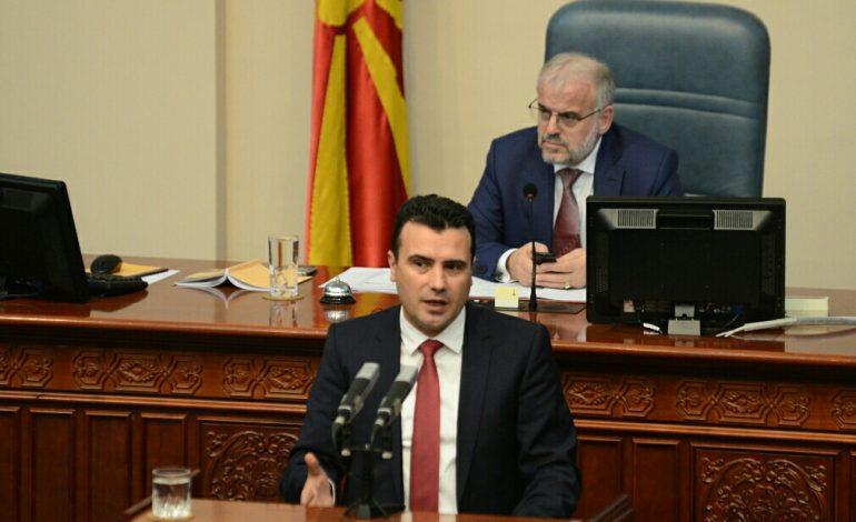 Заев: Груевски, ти си дел од темно минато, Македонија расчисти со тебе