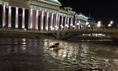 Извлечено е ,,пливачкото,, возило од реката Вардар