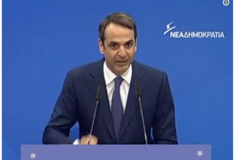 """Мицотакис: Фразата на Меркел """"македонски премиер"""" не е воопшто корисна"""