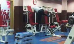 ВИДЕО ЛУДОРИИ: Како вежба Босанец во теретана?