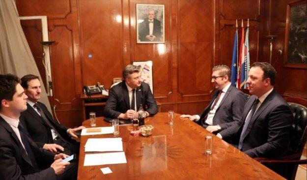 Мицкоски оствари средба со Пленковиќ