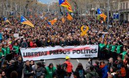 Илјадници демонстранти се собираат во Барселона по апсењето на Карлес Пуџдемон
