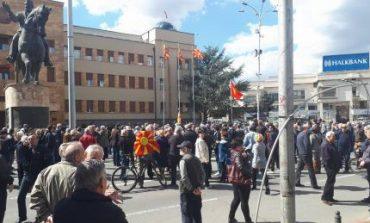 """""""Народот не е на продажба"""" - протест пред Собрание"""