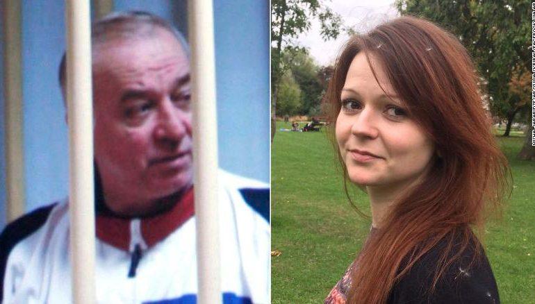 Рускиот шпион и неговата ќерка биле отруени со нервен гас