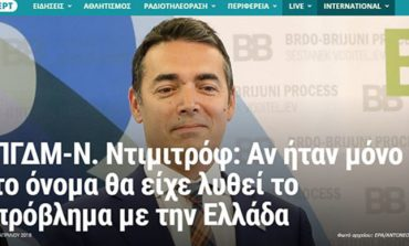 "Грчките медиуми за интервјуто на Димитров за српската ТВ ""Н1"""