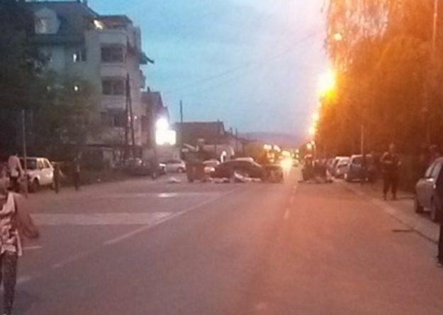 Прегазено дете во Ѓорче Петров   граѓани протестираат